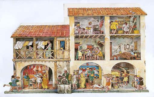 История на лизинга - лизинг в дрелен Рим