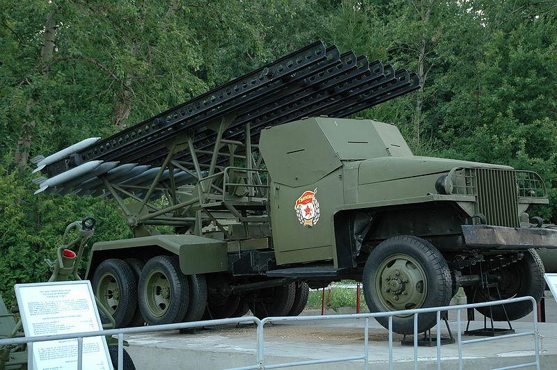Ленд-лийз - Американски камион с Катюша